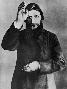 Grigori Rasputin Russian Mystic and Court Favourite in 1912