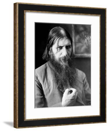 Grigori Rasputin, Russian Mystic-Ria Novosti-Framed Giclee Print