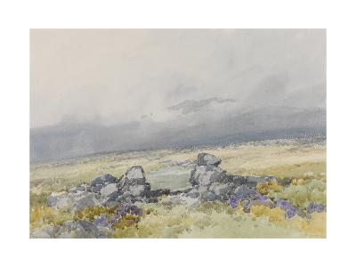 Grimspound, Dartmoor (Showing the Main Entrance from the South) , C.1895-96-Frederick John Widgery-Giclee Print