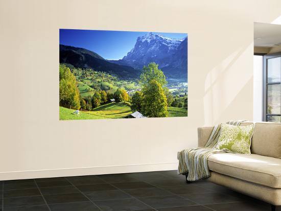 Grindelwald, Berner Oberland, Switzerland-Peter Adams-Wall Mural