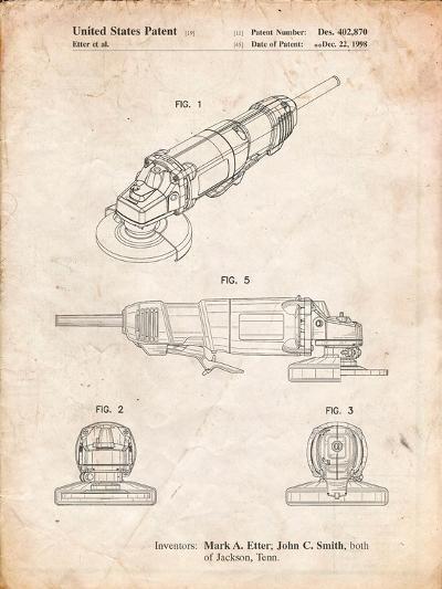 Grinder, Grinder Patent-Cole Borders-Art Print