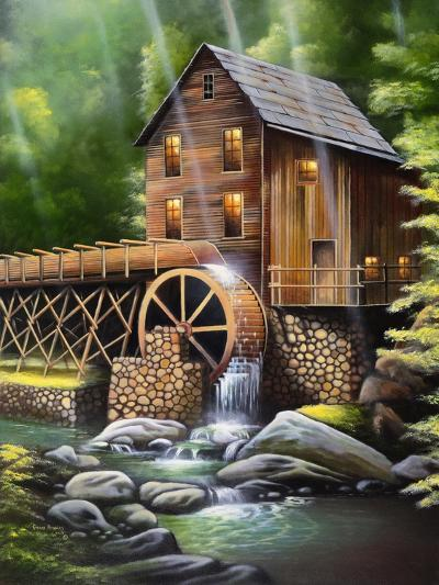 Gristmill-Geno Peoples-Giclee Print