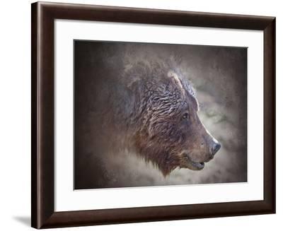 Grizzly Bear Boar-Larry McFerrin-Framed Photo