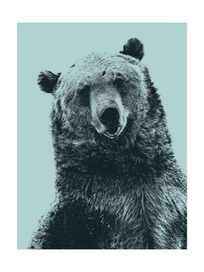 Grizzly Bear-James Hager-Giclee Print