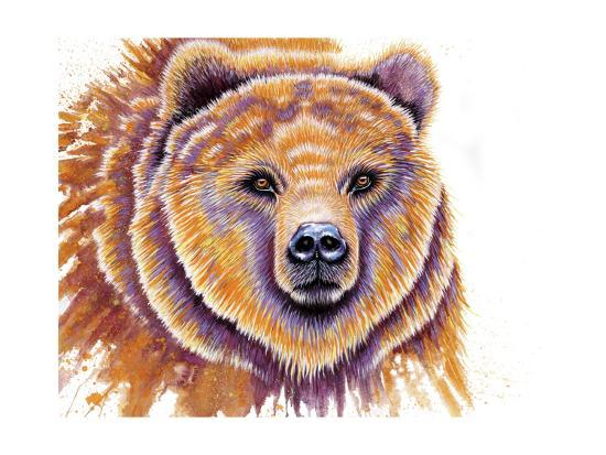 Grizzly Bear-Michelle Faber-Giclee Print