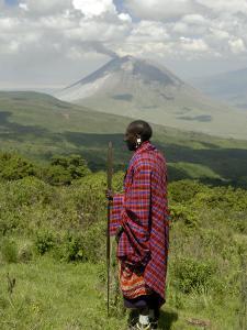 Masai, Ngorongoro Conservation Area, UNESCO World Heritage Site, Tanzania, East Africa, Africa by Groenendijk Peter