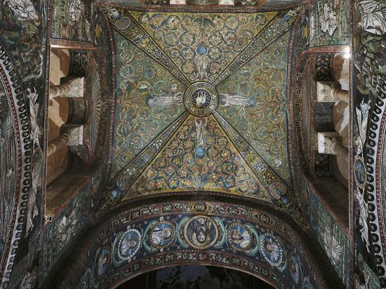 Groin Vault of the Presbytery, Basilica of San Vitale--Photographic Print