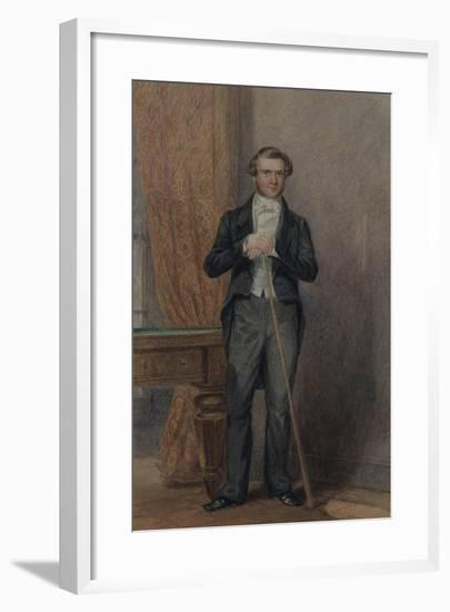 Groom of Chambers-William Henry Hunt-Framed Giclee Print