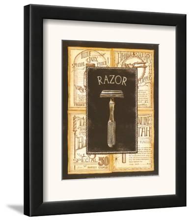 Grooming Razor-Charlene Audrey-Framed Art Print