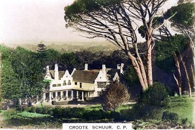 Groote Schuur House, Cape Town, South Africa, C1920S--Giclee Print