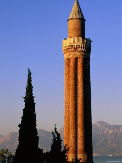 Grooved Minaret of Yivali Minari, Antalya, Turkey-John Elk III-Photographic Print