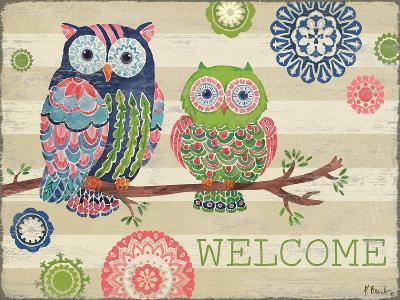 Groovy Owls I-Paul Brent-Art Print