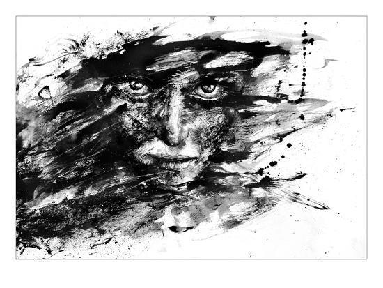 Grosse Fuge-Agnes Cecile-Art Print