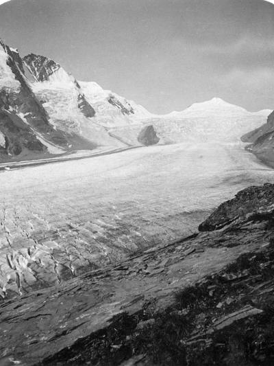 Grossglockner, Hohe Tauern, Austria, C1900s-Wurthle & Sons-Photographic Print