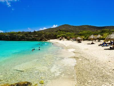 Grote Knip Beach, Curacao, Netherlands Antilles, West Indies, Caribbean, Central America-Michael DeFreitas-Photographic Print