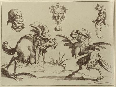 Grotesques, 1637--Giclee Print