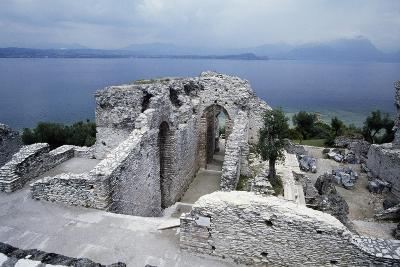 Grotto of Catullus, Roman Villa, Sirmione, Lombardy, Italy BC-1st Century AD--Giclee Print