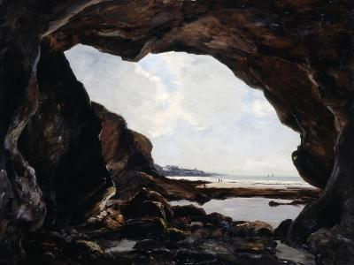 Grotto of Ris, Douarnenez, 1876-Emmanuel Lansyer-Giclee Print