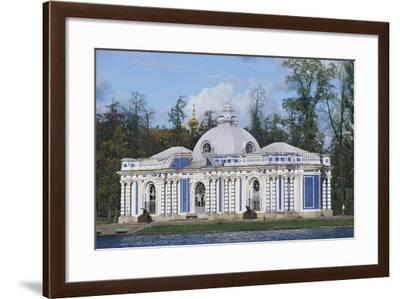Grotto Pavilion in Park of Catherine Palace--Framed Giclee Print