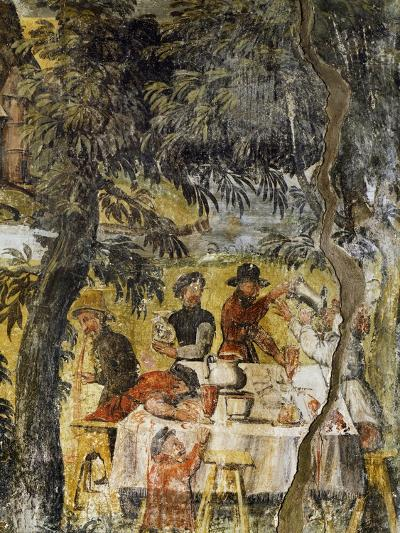Group of Drinkers, Ca 1548-Marcello Fogolino-Giclee Print