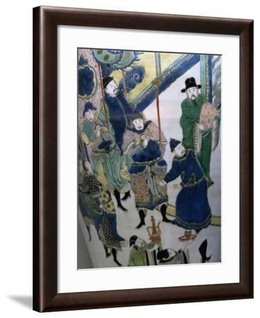 Group of Male Figures--Framed Giclee Print