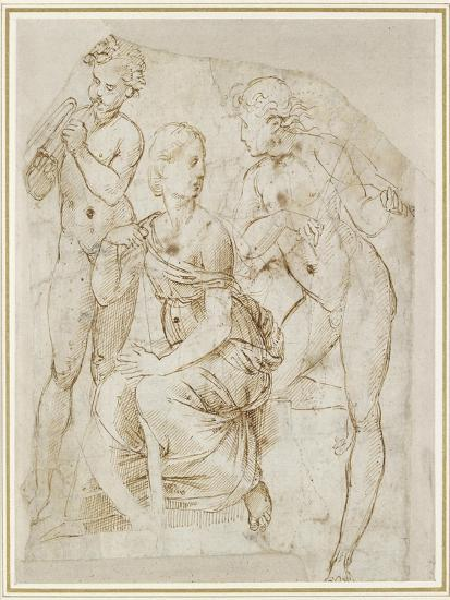 Group of Musicians-Raphael-Giclee Print