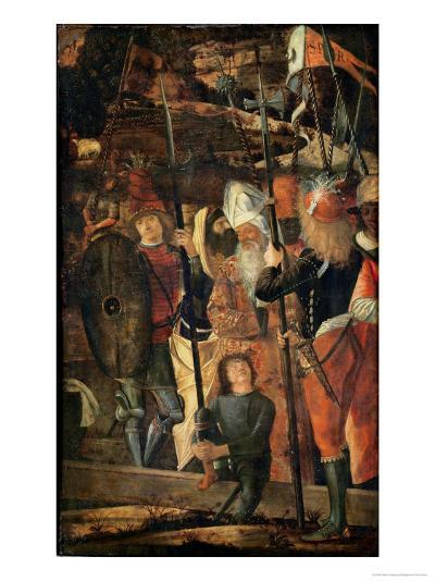 Group of Orientals, Jews and Soldiers, 1493-95-Vittore Carpaccio-Giclee Print