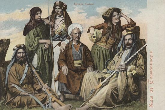 Group of Syrians--Giclee Print