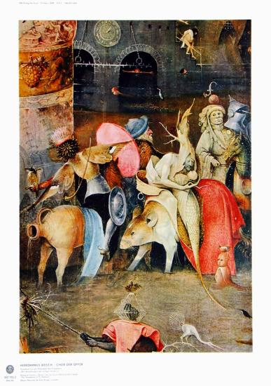 Group of Victims-Hieronymus Bosch-Collectable Print