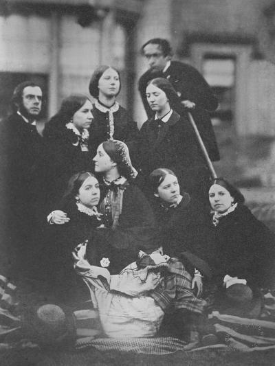 Group Portrait, C.1855-Otho Fitzgerald-Giclee Print