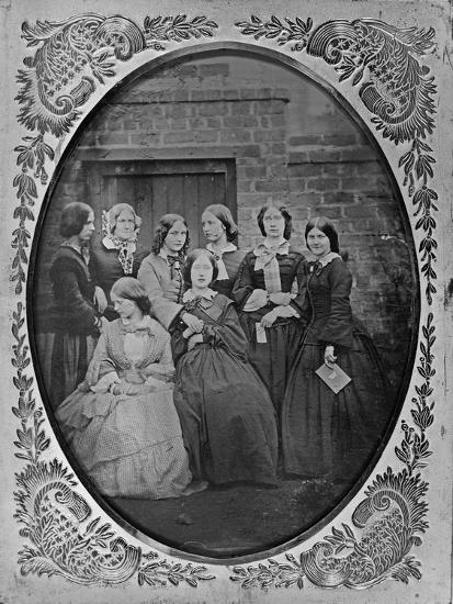 Group Portrait, C.1857-Augusta Crofton-Giclee Print