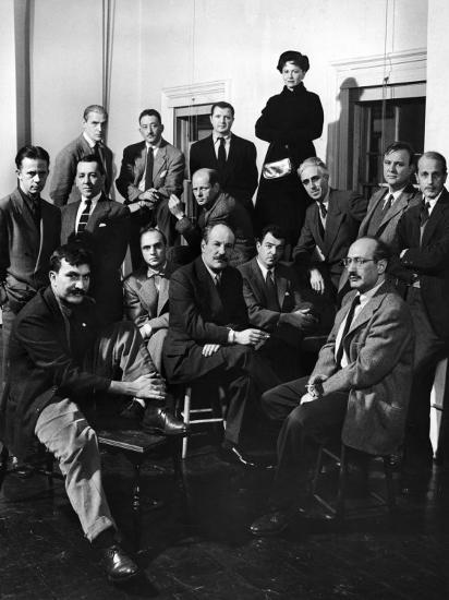 Group Portrait of American Abstract Expressionists, The Irascibles--Premium Photographic Print