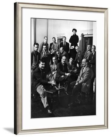 Group Portrait of American Abstract Expressionists, The Irascibles