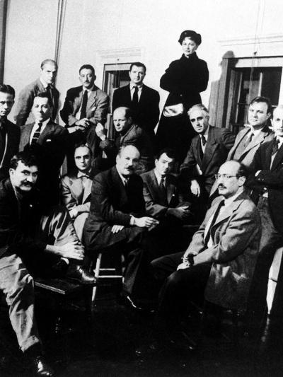 """Group Portrait of American Abstract Expressionists, """"The Irascibles""""--Photographic Print"""