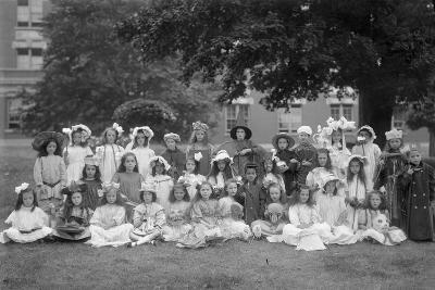 Group Portrait of Children from the Roman Catholic Orphan Asylum-William Davis Hassler-Photographic Print