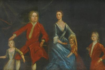 Group Portrait of the Arundell Family of Wardour--Giclee Print