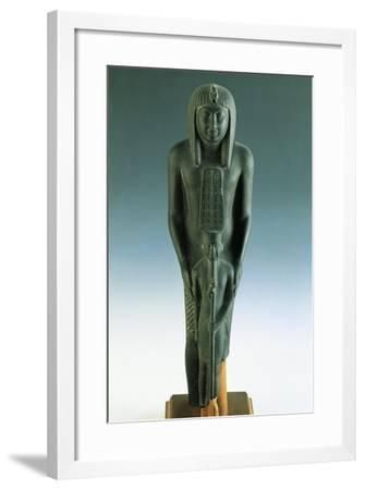 Group Sculpture of Ramses VII and Amon, from Karnak--Framed Giclee Print