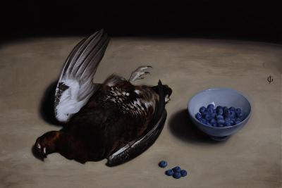 Grouse and Blueberries, 2008-James Gillick-Giclee Print