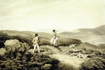 Grouse Shooting, from 'Ormes Collection of British Fieldsports', Engraved by J. Godby and H.…-Samuel Howitt-Giclee Print