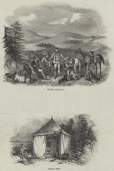 Grouse Shooting--Giclee Print