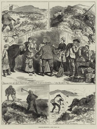 Grouse-Shooting--Giclee Print
