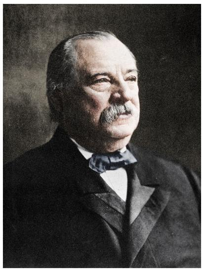 Grover Cleveland, 22nd and 24th President of the United States, 19th century (1955)-Unknown-Photographic Print