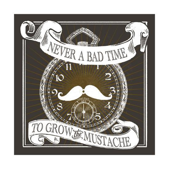 Grow the Stache-Cory Steffen-Premium Giclee Print