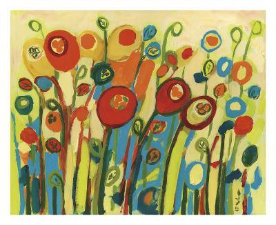 Growing Poppies-Jennifer Lommers-Art Print