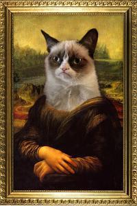 Grumpy Cat Mona Lisa