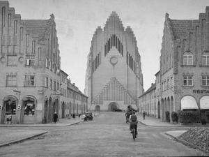 Grundtvig Church in the City of Copenhagen