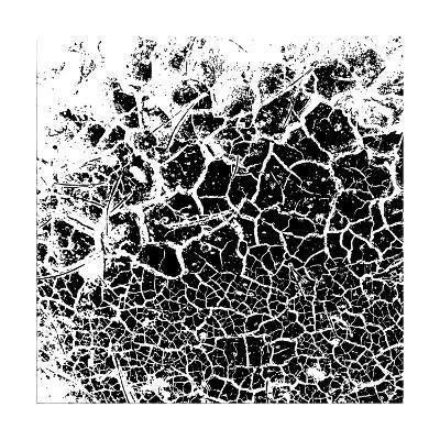 Grunge Background- -Aqua--Art Print