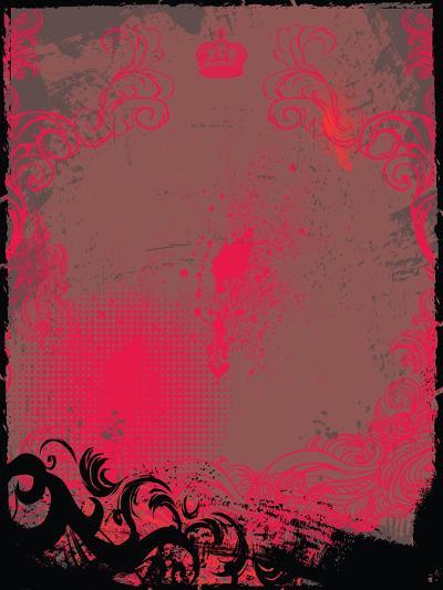 Grunge Background- Maksbart-Art Print