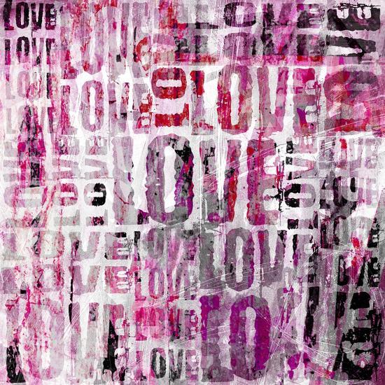Grunge Love Square-Roseanne Jones-Giclee Print