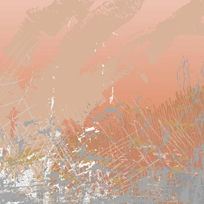Grunge Retro Vintage Paper Texture, Grungy Old Brown Background, Illustration Design Element- xpixel-Art Print